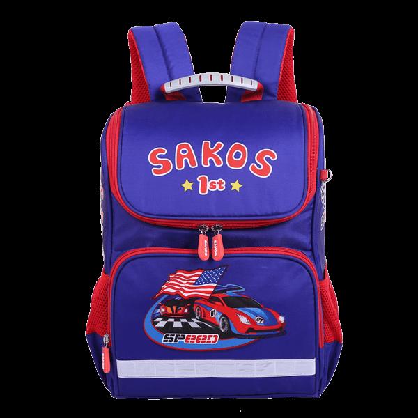 Balo Sakos Simple - Car Racing