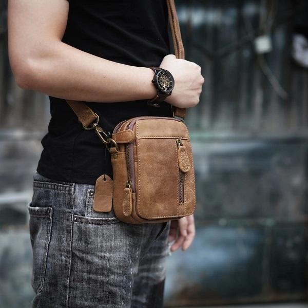 5 Shop bán túi đeo chéo cho nam đẹp tại tphcm | cặp da nam công sở INOSTORE
