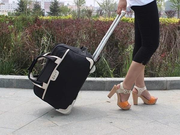[ Giảm giá ] Túi kéo du lịch vải bố size lớn chính hãng khuyến mãi tại tphcm